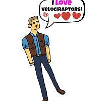 Jurassic World - Velociraptors by rorkstarmason