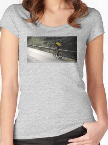 LANCE ARMSTRONG Women's Fitted Scoop T-Shirt
