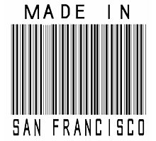 Made in San Francisco Photographic Print
