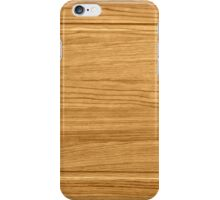 wooden frame iPhone Case/Skin