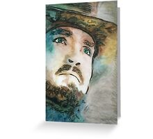 Athos Illustration in Full Colour Greeting Card