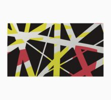 Red, yellow, black abstract gifts & decor Kids Clothes