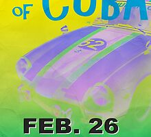 Grand Prix of Cuba Rally Poster by Edward Fielding