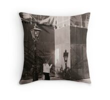 A Shadow Of The Light Throw Pillow