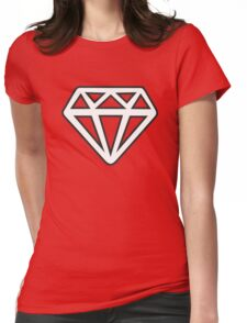 Diamond and Coal Womens Fitted T-Shirt