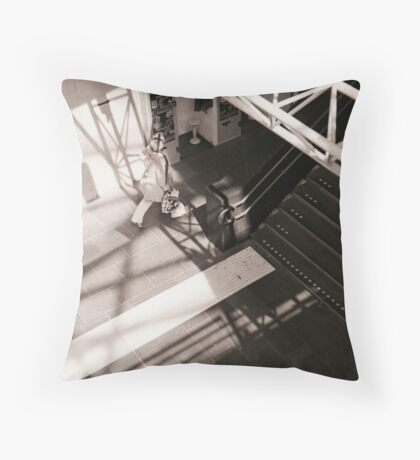 Connected By Shadows Throw Pillow