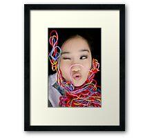 Eunis Framed Print