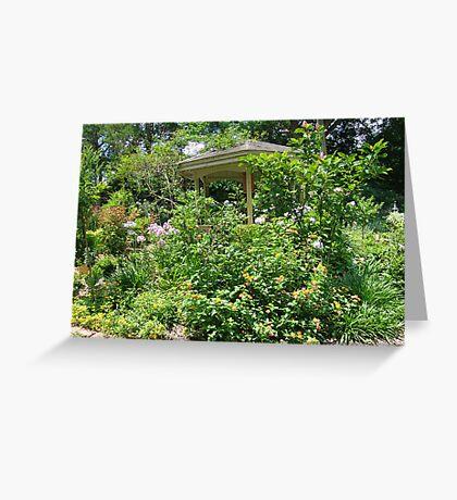 Gazebo at June's Garden, Bayou George, FL Greeting Card