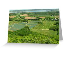 The Green Fields of Home Greeting Card