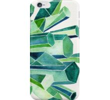 Emerald Watercolor iPhone Case/Skin