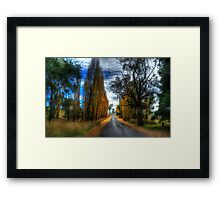 Autumn - Central West NSW - The HDR Experience Framed Print