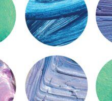 Aquatic Dots Sticker