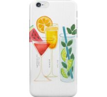 Summer Cocktail Trio iPhone Case/Skin
