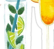 Summer Cocktails Sticker