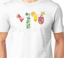 Summer Cocktail Trio Unisex T-Shirt