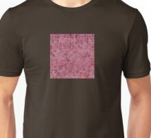Mauve and Rose Colored Pattern Unisex T-Shirt
