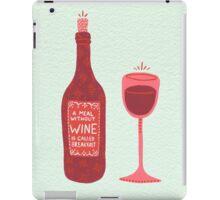 Wine iPad Case/Skin