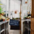 Closed Staff Only by Bethany Helzer
