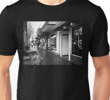 A Rainy Afternoon in the Square Unisex T-Shirt