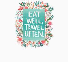 Eat Well, Travel Often – Bouquet T-Shirt