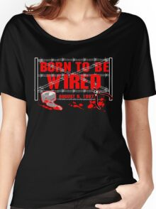 ECW Born To Be Wired 1997  Women's Relaxed Fit T-Shirt