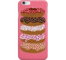 Donuts Stacked on Cherry iPhone Case/Skin