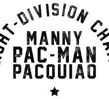 Manny Pacquiao - Letterpress by liam175