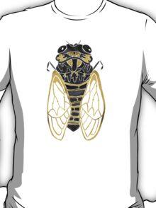 Cicada – Black & Gold T-Shirt