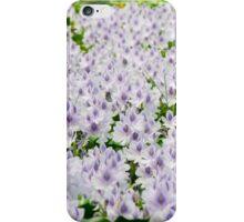 Purple flower bed iPhone Case/Skin