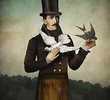 Man with Birds by ChristianSchloe