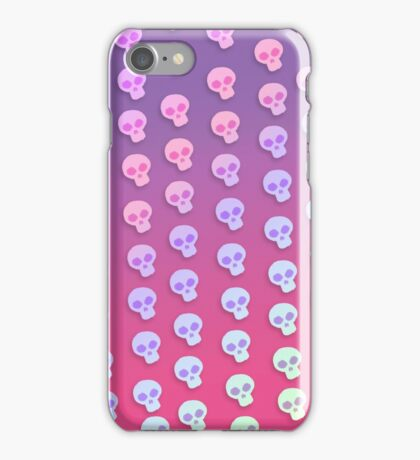 Cute Little Skulls  iPhone Case/Skin
