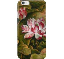 """""""Right to Live"""" from the series """"In the Lotus Land"""" iPhone Case/Skin"""