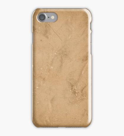 grunge page of paper  iPhone Case/Skin