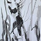 ink stretching by evon ski