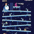 Adventure Time Donkey Kong by missbrodrick