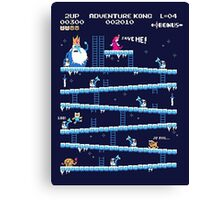 Adventure Time Donkey Kong Canvas Print