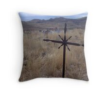 Death with a View Throw Pillow