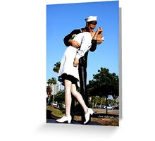 Unconditional Surrender Greeting Card