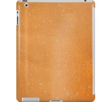 grunge page of paper  iPad Case/Skin