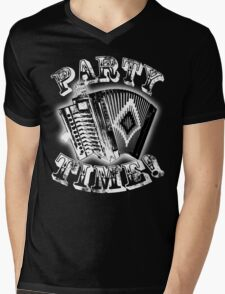 Party Time Cajun Style! Mens V-Neck T-Shirt