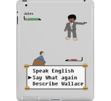 Pulp Fiction - Say What again? iPad Case/Skin