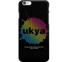 UKYA logo - white text iPhone Case/Skin