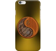 Capricorn & Rabbit Yin Wood iPhone Case/Skin
