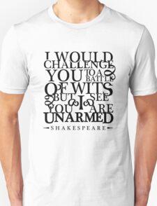 Battle of Wits Unisex T-Shirt