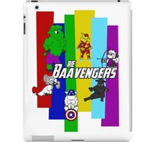 The Baavengers iPad Case/Skin