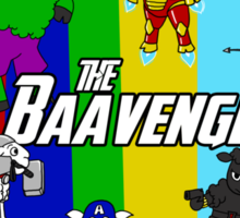 The Baavengers Sticker