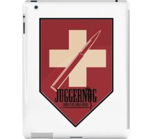 Juggernog logo; Bring it on, Ankle-biters! iPad Case/Skin
