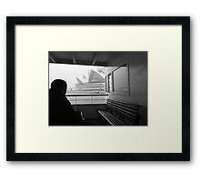 Sneaky Sydney Opera House  Framed Print