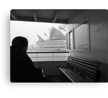 Sneaky Sydney Opera House  Canvas Print