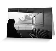 Sneaky Sydney Opera House  Greeting Card